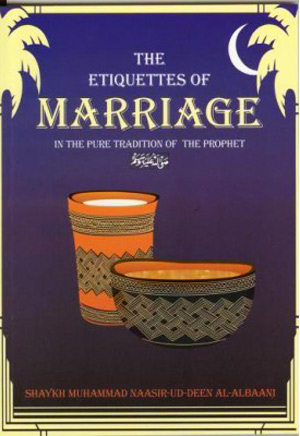 Etiquettes of Marriage