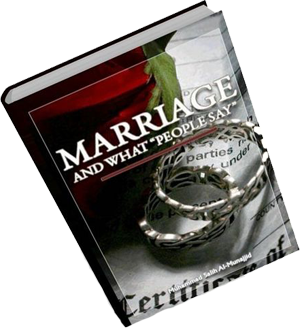 Marriage and What People Say