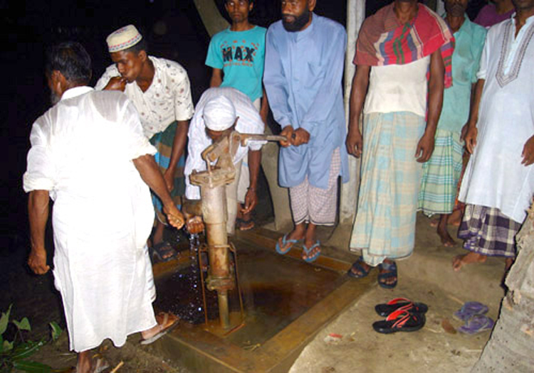 Water Pump for Wudu