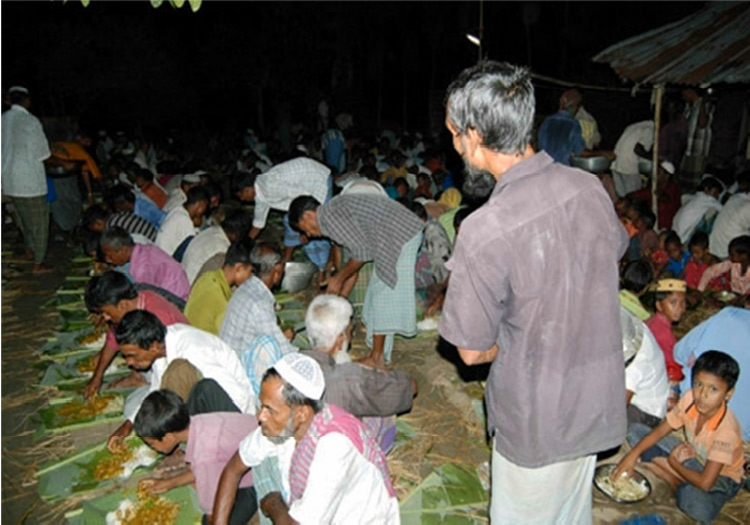 Massive Iftar Program for 200+ Locals